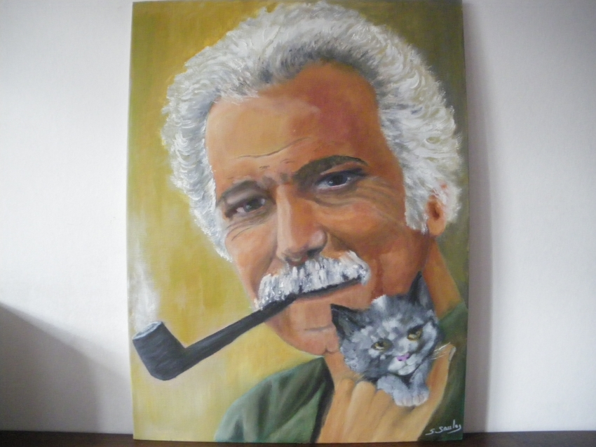 Georges Brassens by kervallon